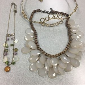 Jewelry - Pink and Gold Jewelry Set (3 piece)